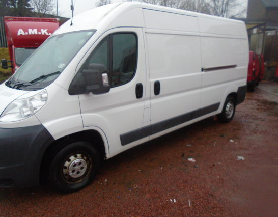 2012 Peugeot Long Wheel Base 62 PLate